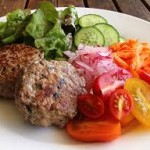 A Healthy burger from your Kiama Fitness Professionals!