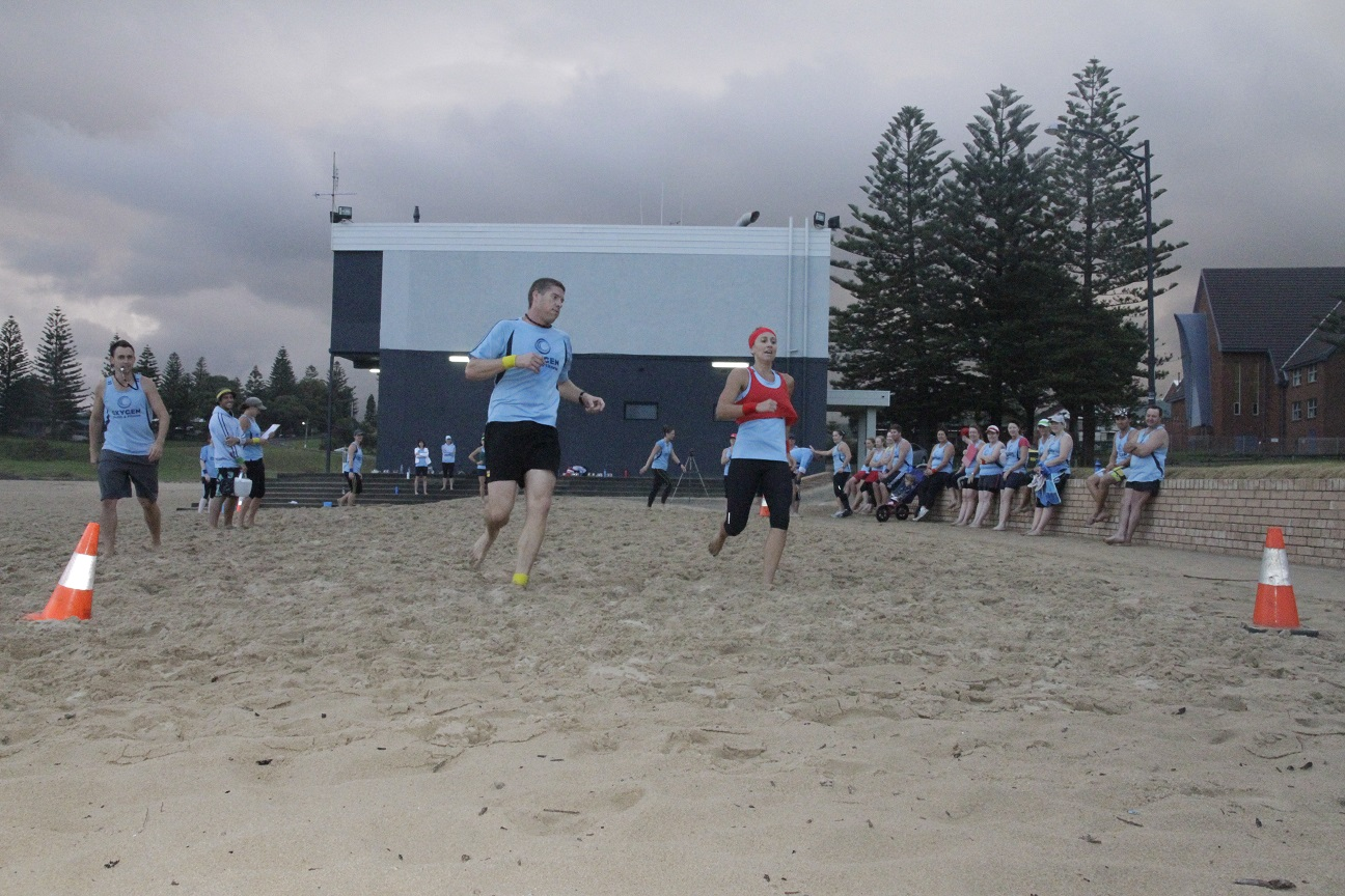 CW2 Beach Beep Test